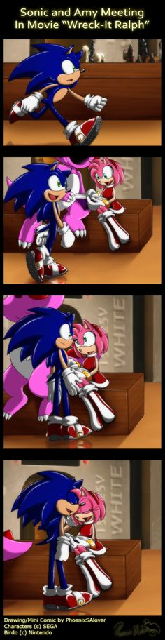 deviantART: More Like .:SonAmy:. Christmas Kiss by ~Janie7The7Tiger