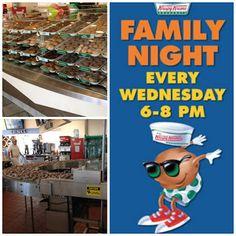Free Fun in Austin: Family Night at Krispy Kreme Doughnuts