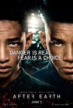Will Smith, Jaden Smith in first AFTER EARTH movie poster