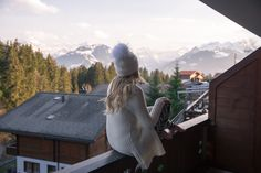 Stay at the Alpenrose Boutique Hotel We had a lovely two nights at the gorgeous Alpenrose Boutique hotel in Schonried. Its a gorgeous little place very close to Gstaad with incredible views of the mountains. Our
