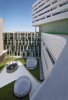 New Hospital Tower Rush University Medical Center- Chicago,USA- Perkins+Will