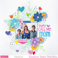 Call My Mom, Call Me, Sweet Home Collection, Acrylic Shapes, Alphabet Stickers, Scrapbook Cards, Scrapbooking Ideas, Heart Background, Different Tones