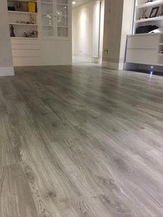 Amtico Grey Wood Flooring to Premises in South London Laminate Flooring In Kitchen, Laminate Stairs, Laminate Flooring Colors, Stone Flooring, Wooden Flooring, Hardwood Floors, Flooring Types, Flooring Ideas, Homemade Home Decor