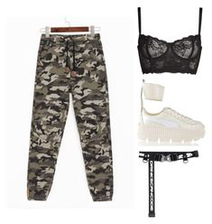 A fashion look from January 2018 featuring brown pants, longline bra and platform sneakers. Browse and shop related looks. Ava, Boards, Shoe Bag, My Style, Polyvore, Stuff To Buy, Shopping, Collection, Design