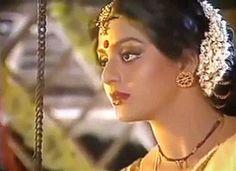 Bhanupriya as maneka in vishwamitra Top Celebrities, Beautiful Bollywood Actress, Indian Film Actress, Bollywood Stars, Feature Film, Desi, Art Pieces, Braids, Celebrity