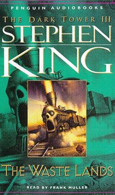 """& above the 3 of them, Old Star & Old Mother rose into their appointed places & stared at each other across the starry ruins of their ancient broken marriage."" The Waste Lands (The Dark Tower #3), Stephen King. Roland, the Last Gunslinger, moves closer to the Dark Tower of his nightmares as he crosses a desert of damnation in a macabre world that is a twisted mirror of our own. W/ him are those he has drawn to this world, street-smart Eddie & courageous Susannah."