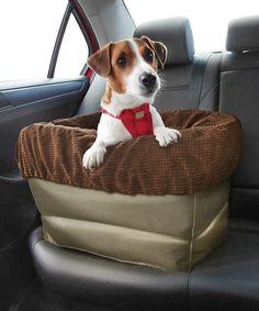 Look what I found on #zulily! Tan Air Ride Dog Booster Seat by Kurgo #zulilyfinds