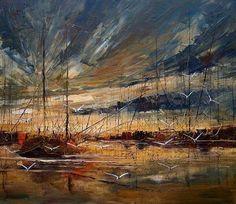 As cores de Justyna Kopania! #oilpainting  #pinturaaóleo  #pintura #art #arte #artesplásticas  #cenárioartístico