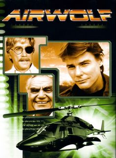 Airwolf As part of a deal for with a intelligence agency to look for his missing brother, a renegade pilot goes on missions with an advanced battle helicopter. Creator: Donald P. Bellisario Stars: Jan-Michael Vincent, Alex Cord and Ernest Borgnine 80 Tv Shows, Old Shows, Great Tv Shows, Tv Vintage, Tv Retro, Capas Dvd, Image Film, Cinema Tv, 80s Tv