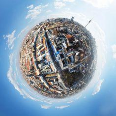 360° Little Planets: Berliner Planet. Foto by Tobi Bohn. Weitere Arbeiten des Fotografen finden Interessierte unter: https://expose-photo.de/tobi-bohn/360-little-planets/