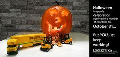 Halloween - logistics