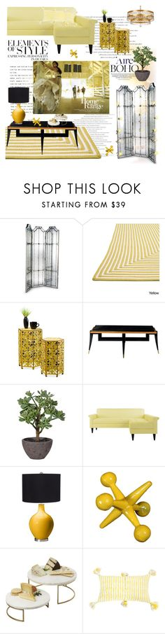 """""""Go Gold or Go Home"""" by taste-for-life ❤ liked on Polyvore featuring interior, interiors, interior design, home, home decor, interior decorating, Vera Wang, Frontgate, Alexander and Crystorama"""