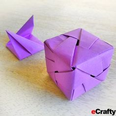 The Gift is in the Giving ~ How to Fold an Origami Gift Box