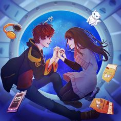 You and me, let's marry in the space station ~