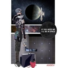 """I'll be in space ..."" by ansev on Polyvore"