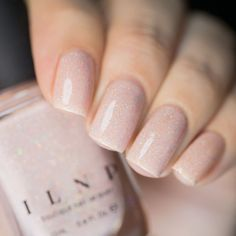 Simple Nail Art Designs That You Can Do Yourself – Your Beautiful Nails Gel Nail Varnish, Nail Polish Colors, Gel Nails, Acrylic Nails, Coffin Nails, Pink Polish, French Nails, Pink Holographic Nails, Nagellack Trends