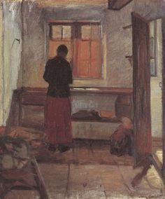 Anna Ancher: Girl in the Kitchen