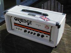 Orange Rocker 30 Limited Edition White