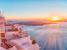 Similar Images, Stock Photos & Vectors of Romantic Santorini island during sunset, Greece, Europe. Parks, Station Balnéaire, Santorini Island, Good Morning World, Jacuzzi, Greece, Lodges, Resorts, Europe