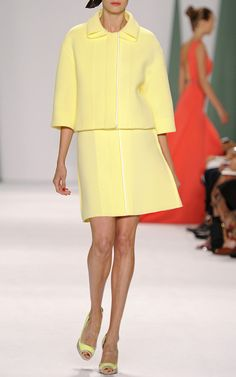 Carolina Herrera Spring/Summer 2015 Trunkshow Look 11 on Moda Operandi