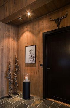 Kontinental fjellhytte – B&B Studio interiørarkitekter / bandbstudio.no / Nina Bjørland og Ane Bernthon Nordic Lodge, Rustic Wood Walls, Cabin Interiors, Diy House Projects, Bathroom Inspiration, My Dream Home, Decoration, Beautiful Homes, B & B