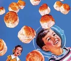 Zero Gravity Biscuits.  Don't let these light and flaky biscuits get away. Puffin Biscuits, 1956