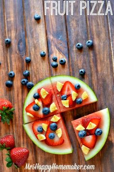 Fruit PIzza   -Repinned by Totetude.com