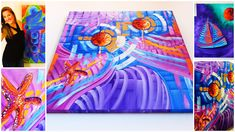 Abstract Art for Sale in Miami. Original Oil Paintings for Sale by Miami Based Artist Laelanie Larach. Latin American Art