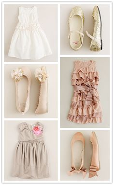 Adorable outfits for a little girl