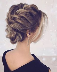 unique wedding hairstyles Updo bridal hairstyles ,Unique wedding hair ideas to inspire you Braided Bun Hairstyles, Hairstyles Haircuts, Braided Updo, Hair Updo, Formal Hairstyles, Style Hairstyle, Curly Hair Styles, Natural Hair Styles, Unique Wedding Hairstyles