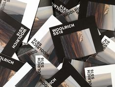 WoolrichWhite Labelis a contemporary interpretation of the traditional Woolrich collection. Public-Library designed the printed look book to further elevate White Label as well as pay homage to the roots of Woolrich through imagery and attitude.