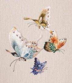 Butterflies : L'ART DE L'AIGUILLE