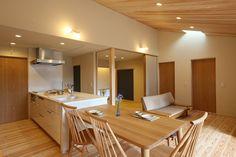写真04|N様邸/プレズィール/トラッド(H28.4.28更新) Modern Japanese Architecture, Japanese Interior, Interior Architecture, Home Design Decor, House Design, Interior Design, Home Decor, Apartment Interior, Apartment Design