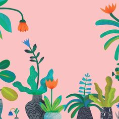 "166 Likes, 6 Comments - Natasha Durley (@natashadurley) on Instagram: "" Leafy things to come. #illustration #plants"""