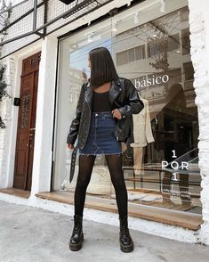 Classy Edgy Fashion Outfits Casual 23 New Ideas Winter Fashion Outfits, Edgy Outfits, Mode Outfits, Grunge Outfits, Cute Casual Outfits, Look Fashion, Winter Outfits, Autumn Fashion, Fashion Edgy