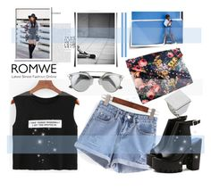 """""""Romwe 3"""" by fashion-addict35 ❤ liked on Polyvore"""