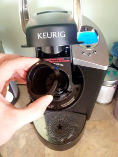 """How to Descale & Clean Your Keurig Brewer / EXCELLENT instructions with pics on how to descale and clean your Keurig brewer if you get """"short"""" cups or off-tasting coffee.  It works!  :o)"""