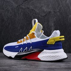Times New Roman Men Casual Shoes Fashion Mixed Color Male Summer Shoes Breathable Men Sneakers Adult Male Comfortable Shoes Yellow Black, Blue And White, Casual Shoes, Men Casual, Fashion Shoes, Mens Fashion, Comfortable Flats, Red Shoes, Types Of Shoes