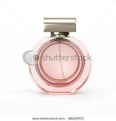 Perfume bottle, close-up by Yuriy_fx, via Shutterstock