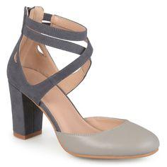 4b8e8fad8881 Journee Collection Piett Women s High Heels Chunky Heel Pumps