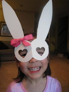 Easter Bunny Mask Craft for Kids