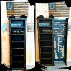 Tactical Blackout Bookshelf - Rough Country Rustic Furniture & Decor