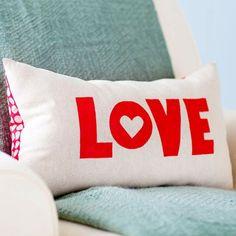 DIY Dekoartikel zum Valentinstag niedlich romantisch