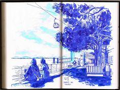 Urban Sketchers Portugal: No Parque das Nações