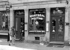 Montreal Poutine | Flickr - Photo Sharing! O Canada, Poutine, Montreal Canada, Old Buildings, Old World, Google Images, North America, Black And White, City