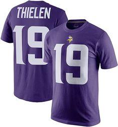 Men s Minnesota Vikings Adam Thielen Nike Purple Player Pride Name   Number  T-Shirt f9cab30c5