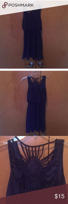 Gorgeous strappy dress! Royal blue Perfect for holiday parties! Ya Los Angeles Dresses Mini