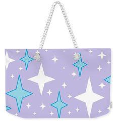 Weekender Tote Bag of 'Starlight 8' by Sumi e Master Linda Velasquez.