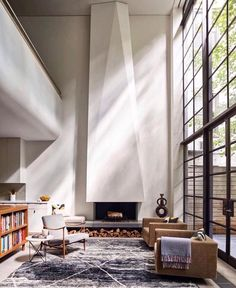 """Design Interiors Architecture (@thelocalproject) on Instagram: """"Angular Fireplace Envy   RG @aa7seven"""""""