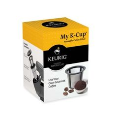K-Cups are plastic and the water and cup itself has to be heated, dissolving chemicals into your coffee. Need to buy this so no more chemicals for me! Keurig® My K-Cup™ Reusable Coffee Filter - BedBathandBeyond.com